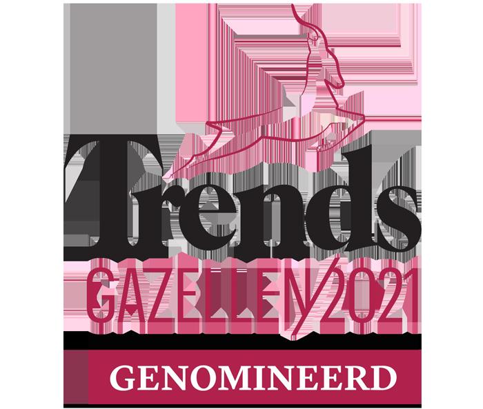 Trends Gazellen 2021 Genomineerd